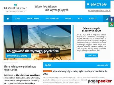 KOGNITARIAT - Biuro rachunkowe Warszawa