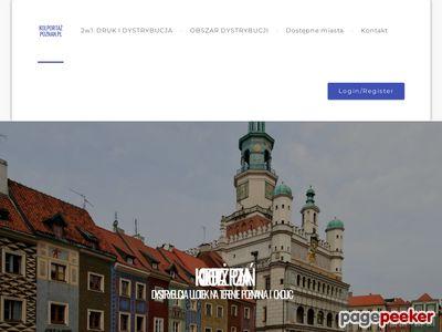 Kolportaż ulotek w Poznaniu