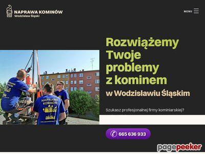 Naprawa kominów w Wodzisławiu Śl.
