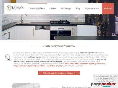 Szafy, kuchnie, na wymiar Warszawa