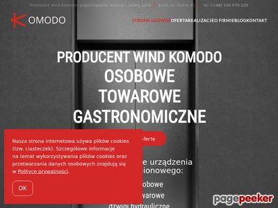 Serwis wind - windy osobowe i towarowe
