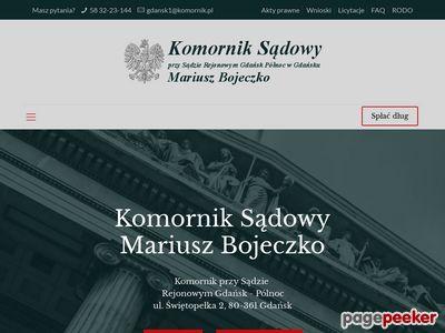 Komornik Gdańsk windykacja należności