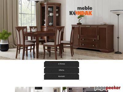 Stoły i krzesła, wersalki, ławy