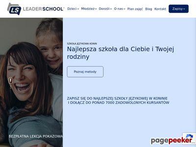 Szkoła językowa konin, angielski dla dzieci konin