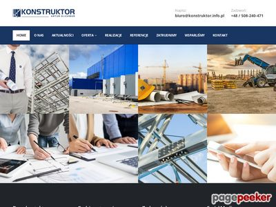 Konstruktor - Projektowanie konstrukcji stalowych