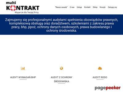Profesjonalny kurs BHP z MultiKontrakt Wrocław