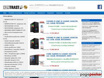 Internetowy sklep komputerowy