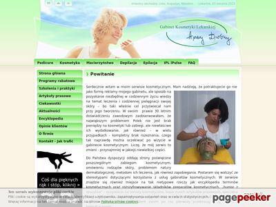 Gabinet Kosmetyki Lekarskiej Anny Drobny