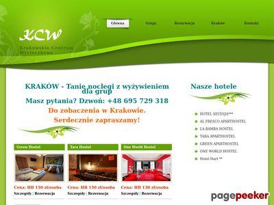 Kraków Tanie Hotele-Krakowskie Centrum Wycieczkowe