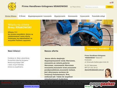 Www.krakowski.com.pl - ozonowanie Warszawa