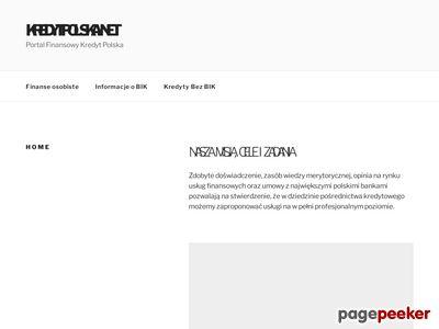 Portal Finansowy Kredytpolska.net - kredyt, ubezpieczenie.