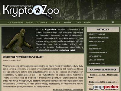 KryptoZoo - Portal kryptozoologiczny