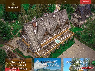 Pensjonat Tatra House - regionalny pensjonat i noclegi z wyżywieniem w Zakopanem