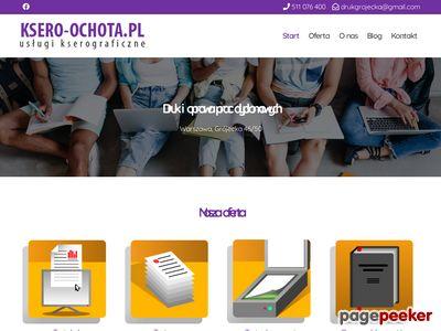 Oprawa prac miękkich tanie ksero studenckie Warszawa - Ksero-ochota.pl