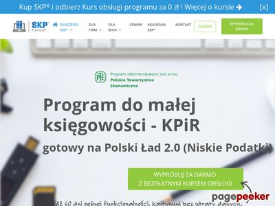 SKP program książka przychodów i rozchodów