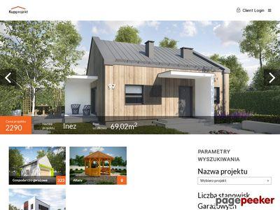 Profesjonalne projekty garaży