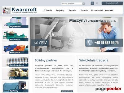 Brykieciarki - maszyny i urządzenia dla przemysłu