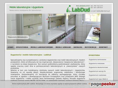 Dygestorium, meble laboratoryjne