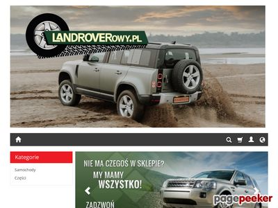 Land rover freelander części