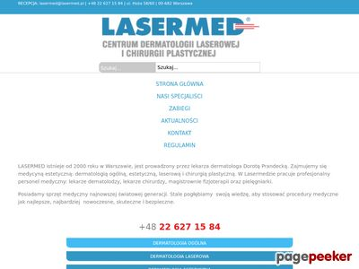 Dermatolog Warszawa - www.lasermed.pl