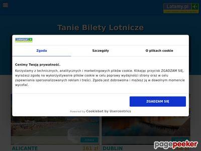 Tanie linie lotnicze, bilety lotnicze - latamy.pl