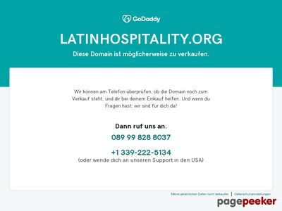 Latino Hotel & Restaurant Association Screenshot