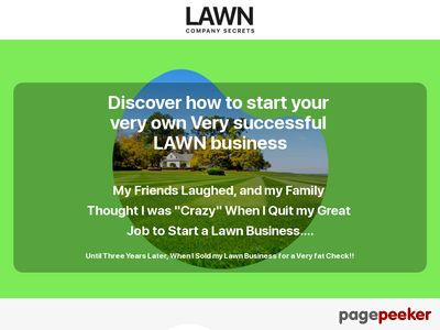 How to Start a Lawn Business – LawnCompanySecrets.com