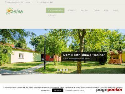 Domki letniskowe w Łebie