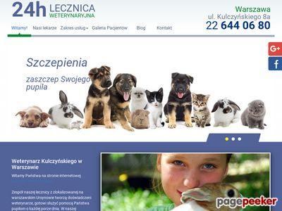 24H LECZNICA WETERYNARYJNA chipowanie psów warszawa