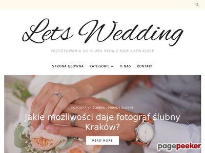 Blog weselny