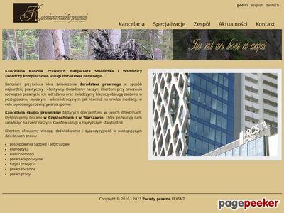 Efektywny prawnik z Warszawy