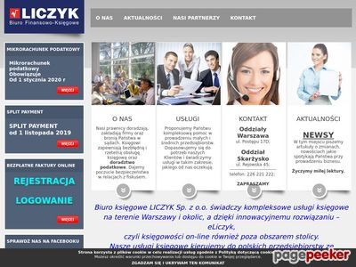 Liczyk - biuro księgowe Warszawa, e-księgowość, usługi księgowe Warszawa