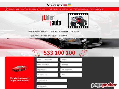 Skup aut Wrocław | Kupię samochód Auto komis LIDER