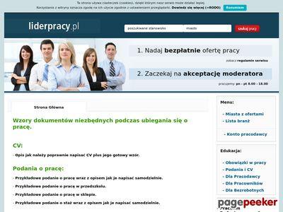 Praca w Polsce - Liderpracy.pl