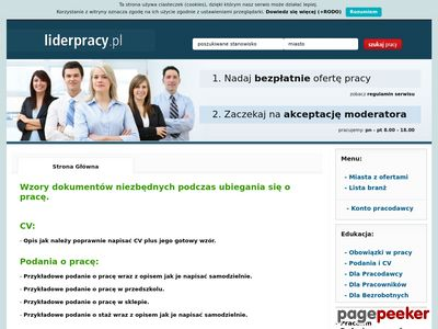 Praca -Liderpracy.pl