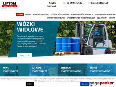 LIFTOM naprawa wózków widłowych Szczecin