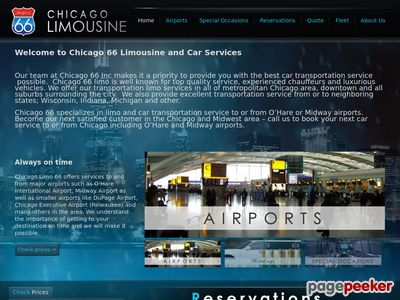 Read more about: Professional limousine service in Chicago