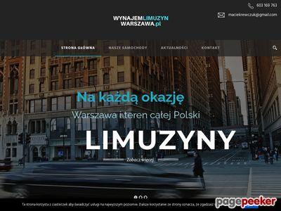 Wynajem Limuzyn Warszawa