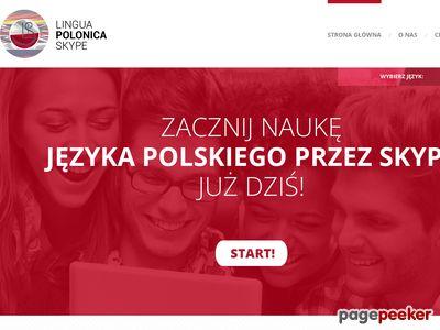 Nauka języka polskiego przez Skype