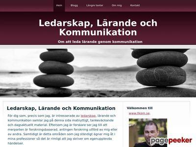 Skärmdump av llkom.se