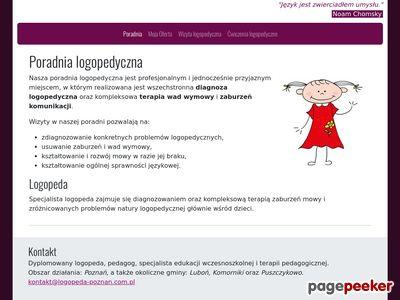 Poradnia logopedyczna Poznań