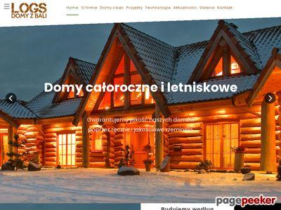 Domy z bali, domy z drewna, Logs - Domy z bali s.c.