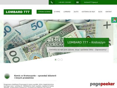 LOMBARD 777 komis