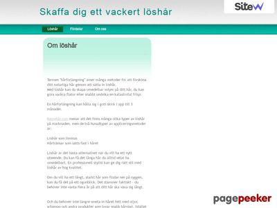 Snyggt löshår - http://www.loshar.sitew.org