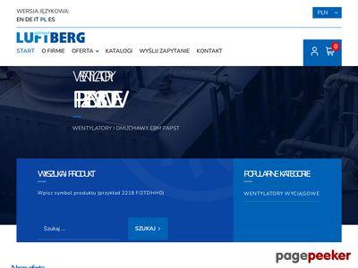 Wentylatory przemysłowe - Luftberg