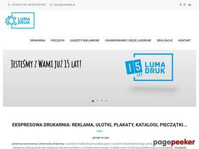 LumaDruk - drukarnia cyfrowa i offsetowa