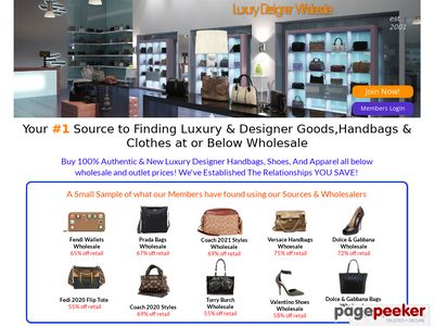 Luxury Designer Wholesale  – Designer Handbags and more Below Wholesale
