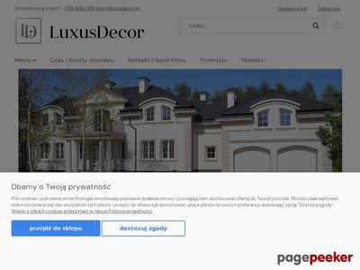 Listwy przypodłogowe - www.luxusdecor.eu