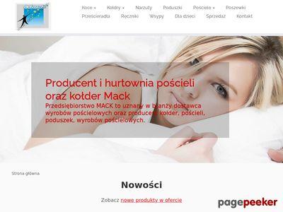 Prześcieradła - mack-posciele.pl