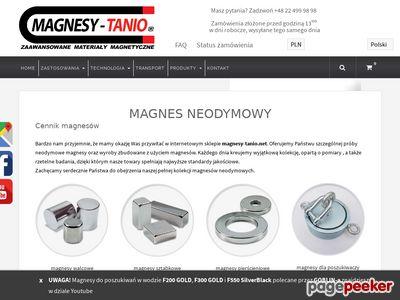 Magnesy neodymowe